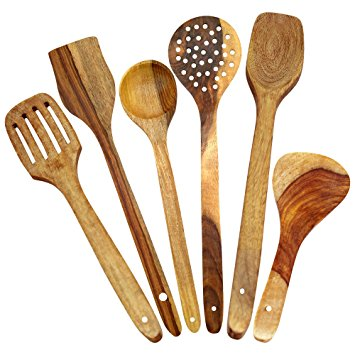 355x355 Itos365 Handmade Wooden Spoons For Cooking And Serving Kitchen