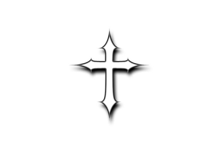 736x552 33 Best Simple Cross Tattoos Images Crucifix Tattoo