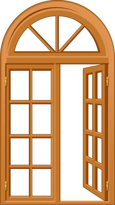 236x421 House Craft Printables Windows And Door Clipart