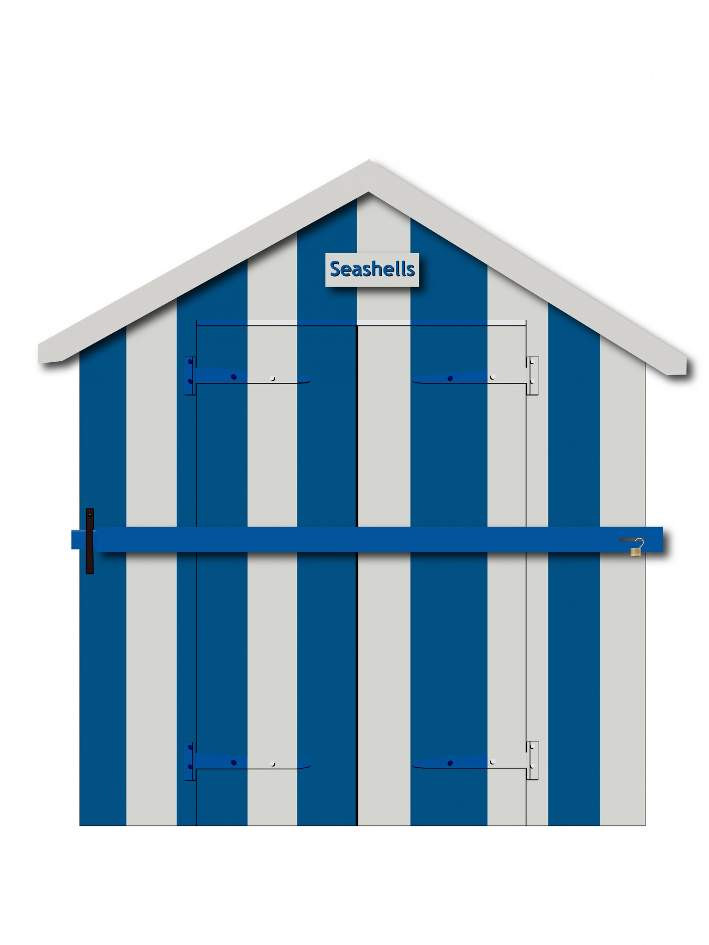 1440x1920 Beach Hut Wooden Clipart Free Stock Photo