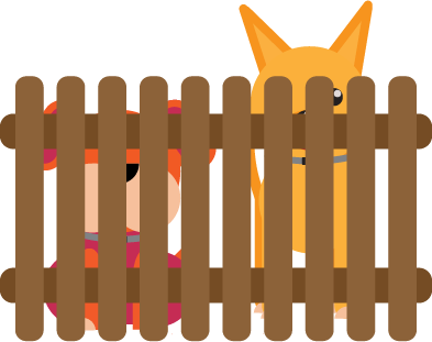 393x311 Types Of Fences For The Dog