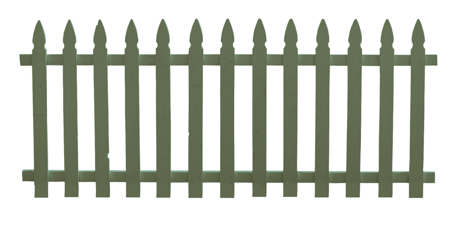 1600x792 White Fence Clipart
