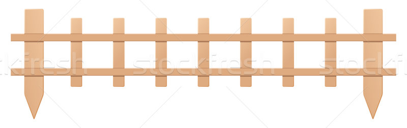 800x252 Wooden Fence Stock Vectors, Illustrations And Cliparts Stockfresh