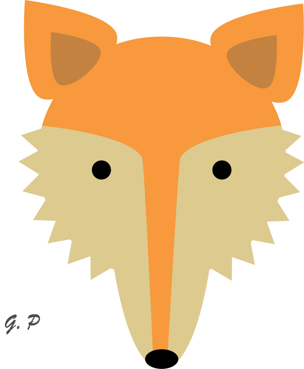 1024x1242 Fox Clip Art Woodland Clipart Animal Clip Art Digital Foxes