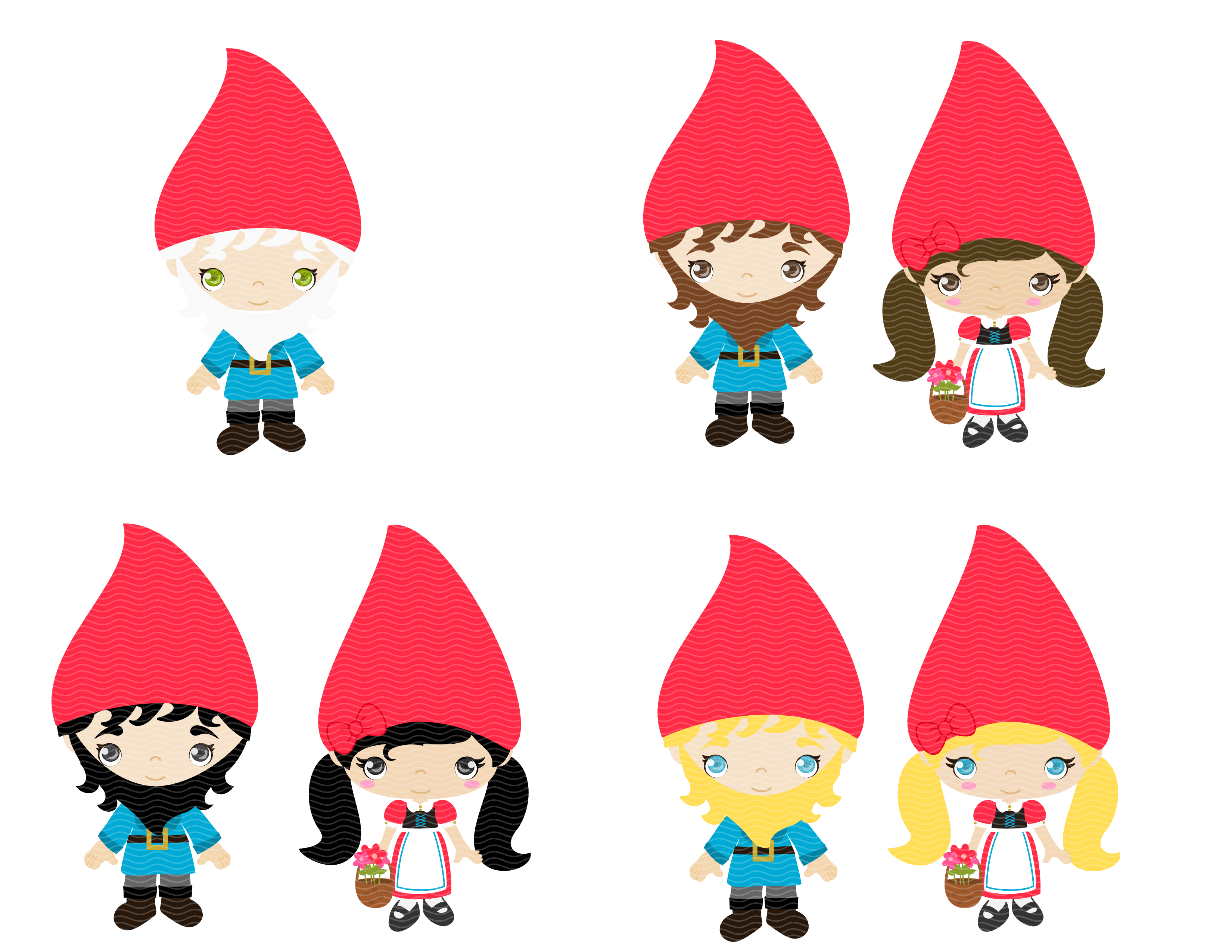 3300x2550 Gnome Clipart Woodland