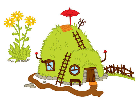 570x428 Item Forest House Clipart