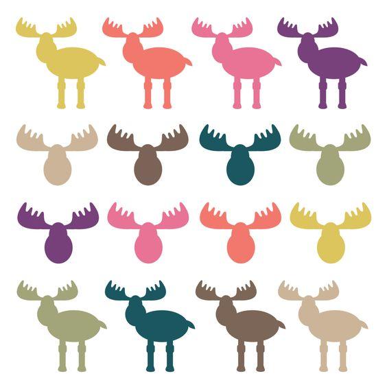 564x564 Moose Clipart Woodland