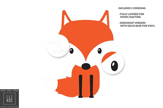 570x380 Fox Svg Fox Svg File Fox Clipart Woodland Svg Animal