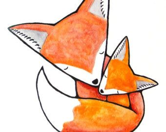 Woodland Fox Clipart
