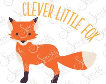 340x270 Fox Clipart Cricut