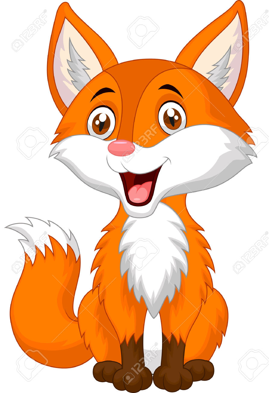 Woodland fox clipart free download best