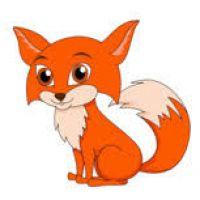 200x200 Baby Fox Clipart
