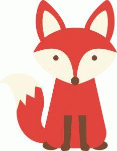 233x300 Diy Free Fox Printable Greeting Cards Fox Deer Owlyoure