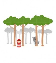 Woods Clipart