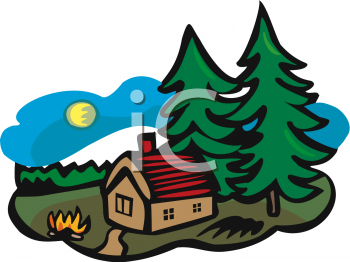 350x262 Camping Clipart Woods