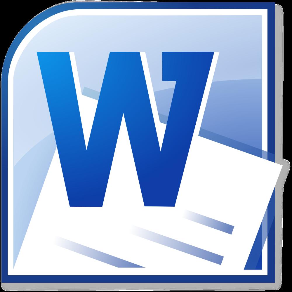 1000x1000 Microsoft Word 2013 Clipart 2077553