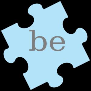 300x300 Puzzle Piece Word Be Clip Art