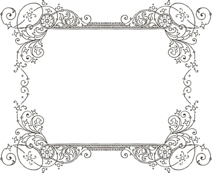 720x589 Decorative Backgrounds For Word Documents More Free Clipartbest