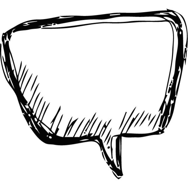Word Bubble Clipart