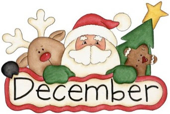 342x229 December Month Clip Art