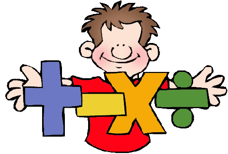 471x319 Math Word Clip Art