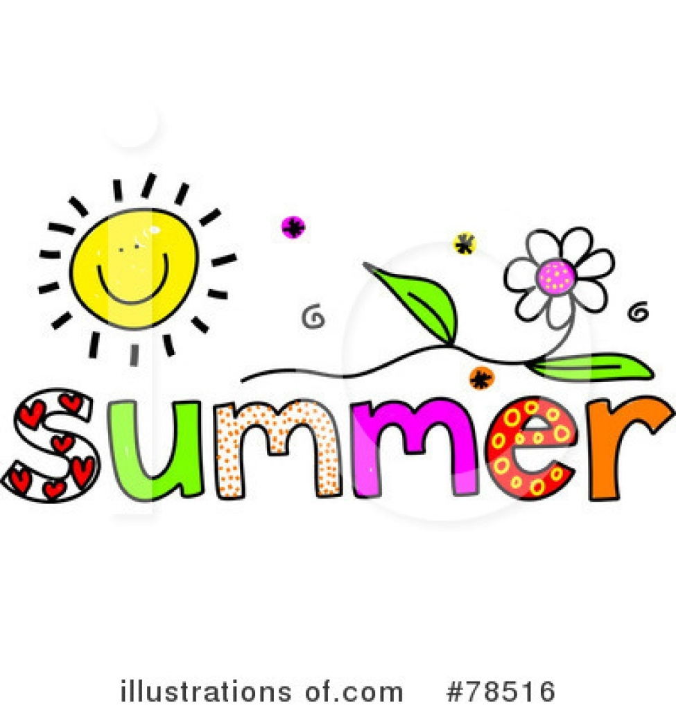 975x1024 Summer Clipart The Word