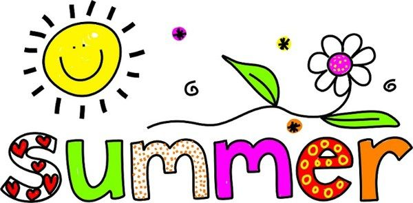600x295 The Word Summer Clip Art Things For My Wall Summer Image