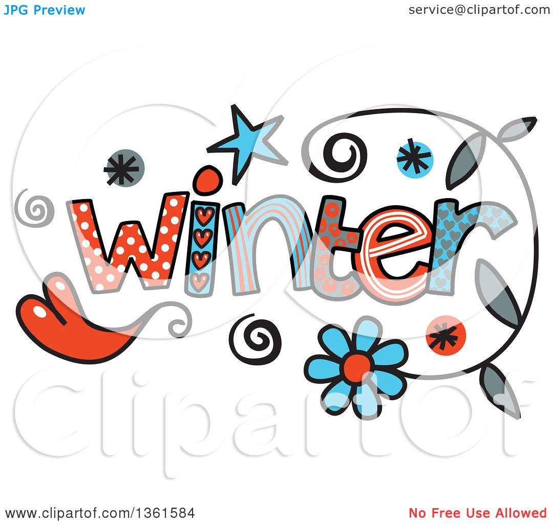 1080x1024 Word Clipart Winter