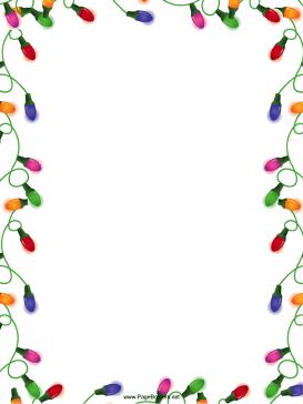 273x364 Christmas Border For Word Document Free Fun For Christmas