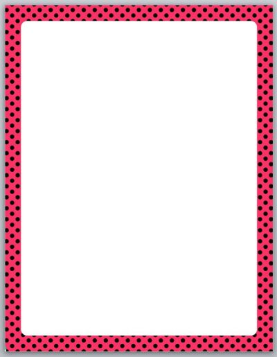 word document borders download