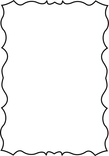 384x547 The Best Page Borders Ideas Doodle Borders