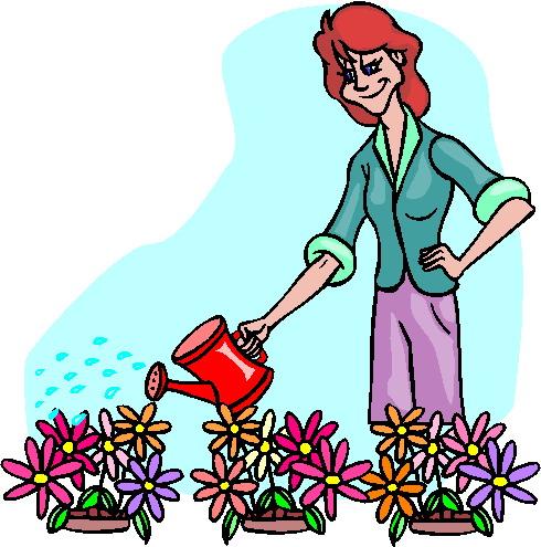 490x495 Garden Clipart Garden Work