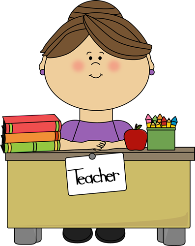 397x500 Elementary School Teacher Clipart