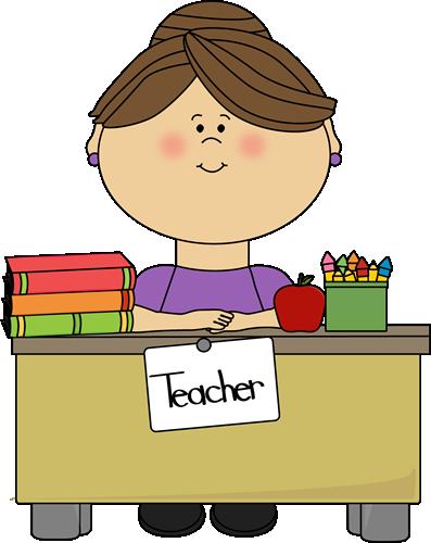 397x500 Elementary School Teacher Clipart