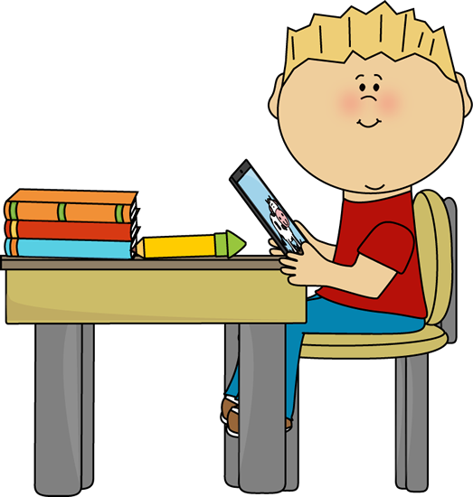523x550 Ipad School Clipart
