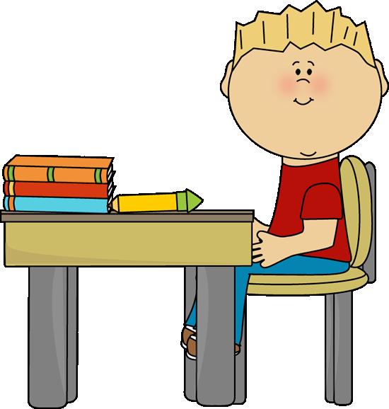 550x578 Desk Clipart Elementary School Classroom