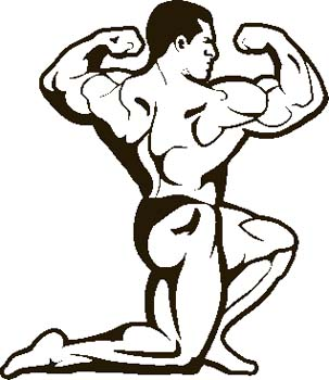 303x350 Animated fitness clipart