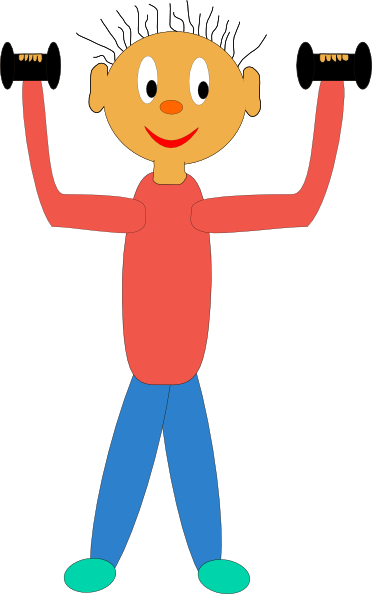 372x594 Exercise Workout Clip Art Clipart Image