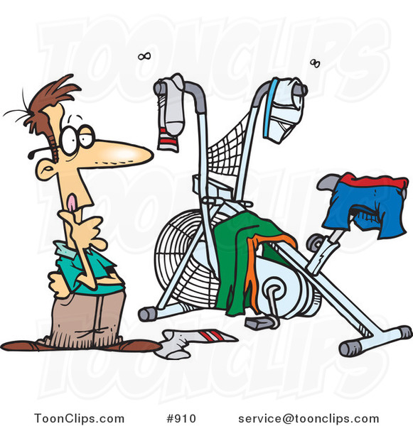 581x600 Fitness Cartoons By Ron Leishman