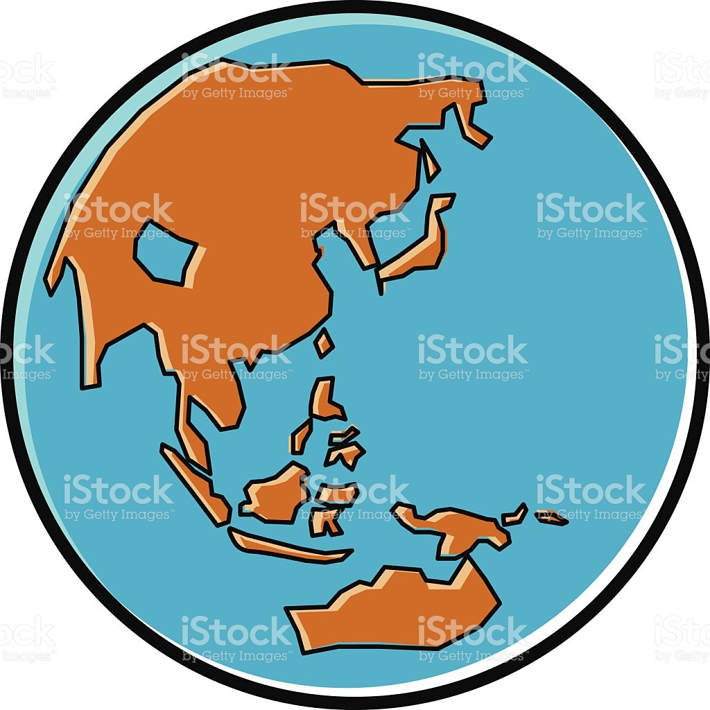 1024x1024 Asian clipart globe
