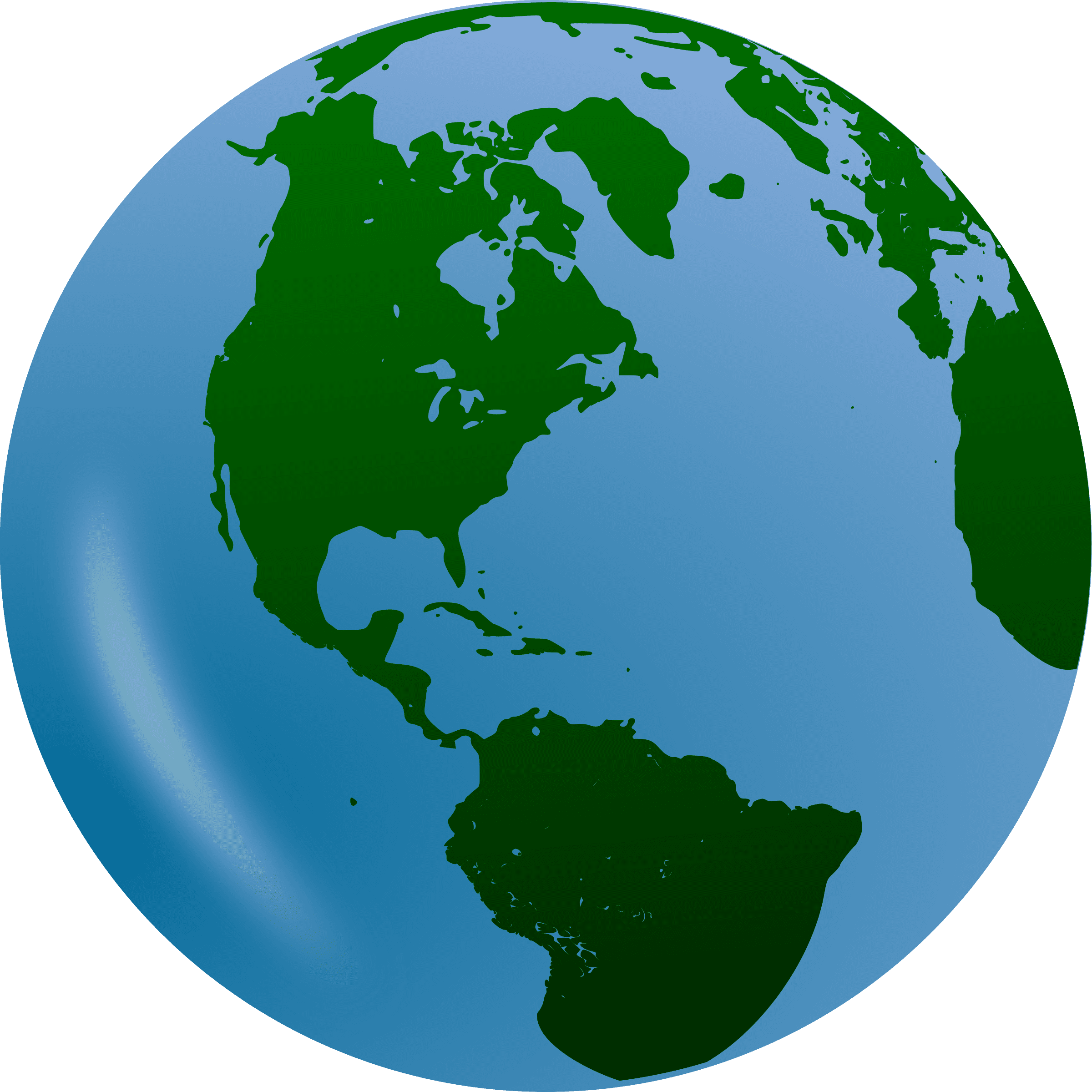 2400x2400 World Clip Art Globe Free Clipart Images 3