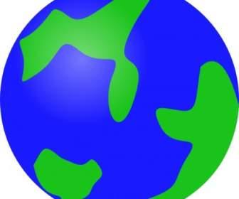 336x280 Recylcle Blue Crystal Earth Globe Clip Art Vector Clip Art Free