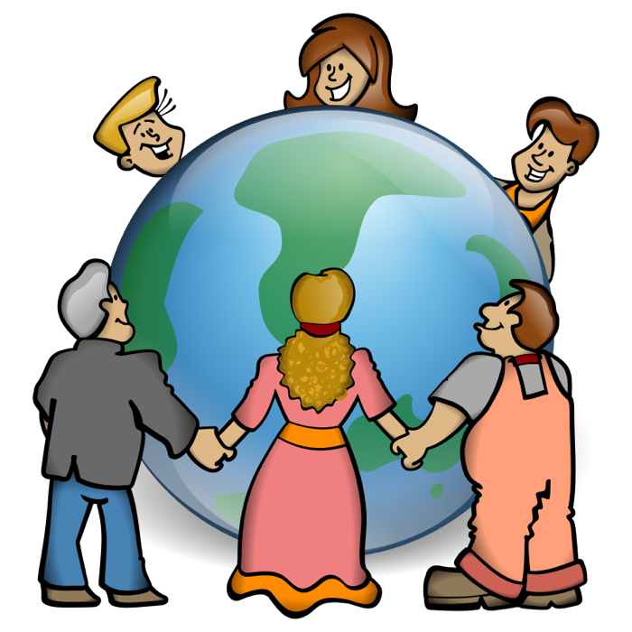 700x700 World Free Earth And Globe Clipart 2