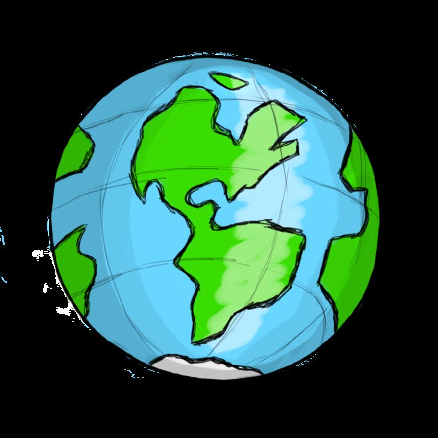 894x894 World Globe Clip Art