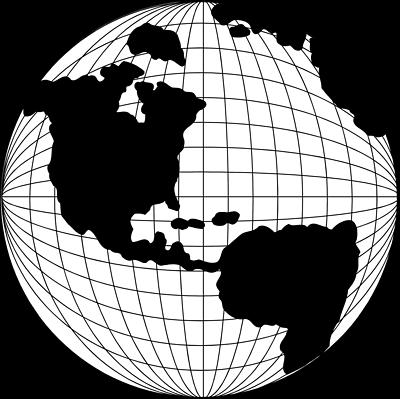 400x399 World Globe Clip Art