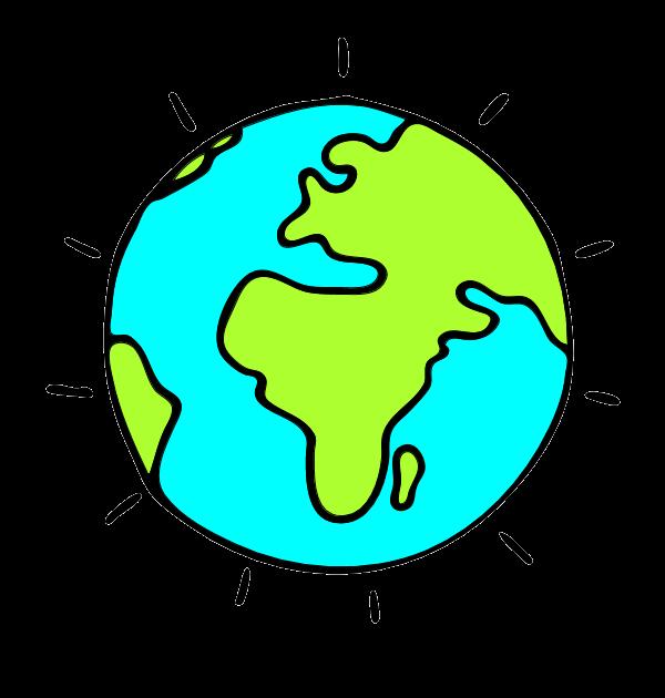 600x630 World Globe Clip Art Clipart 2
