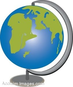 252x300 Clip Art Of A Globe Of The World