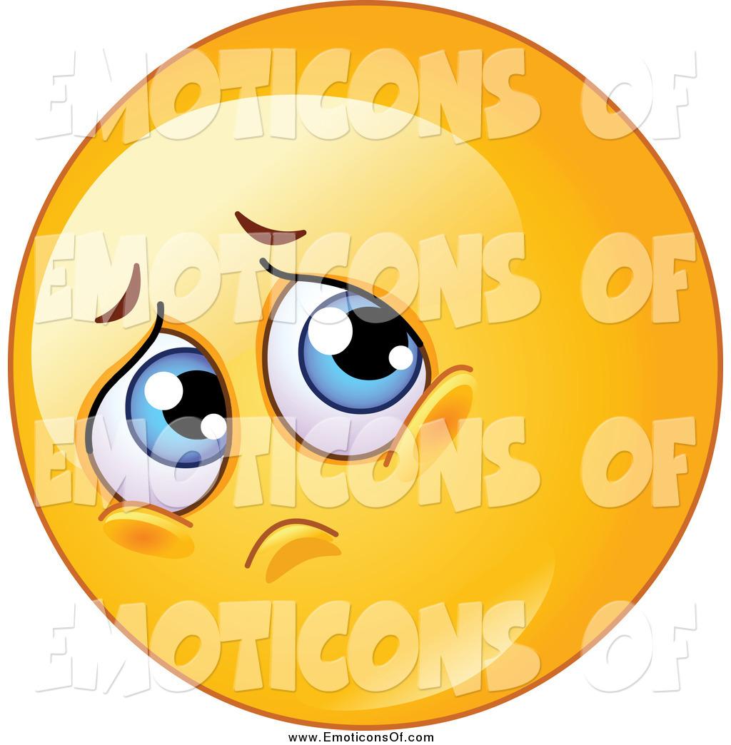1024x1044 Royalty Free Sad Stock Emoticon Designs