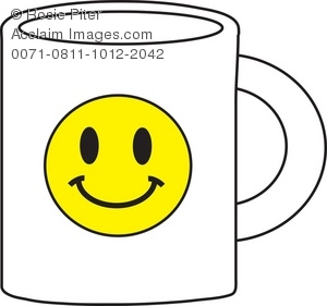 300x281 Smiley Face Coffee Mug Royalty Free (Rf) Clip Art Picture