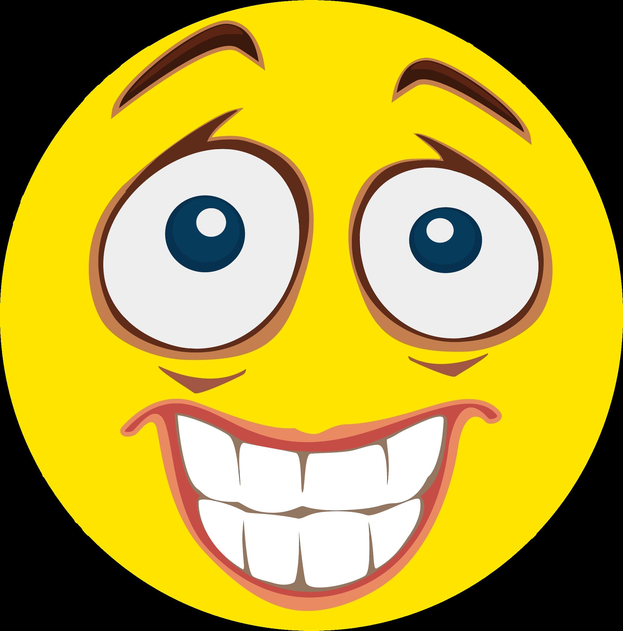 2160x2188 Smileys Clipart Nervous